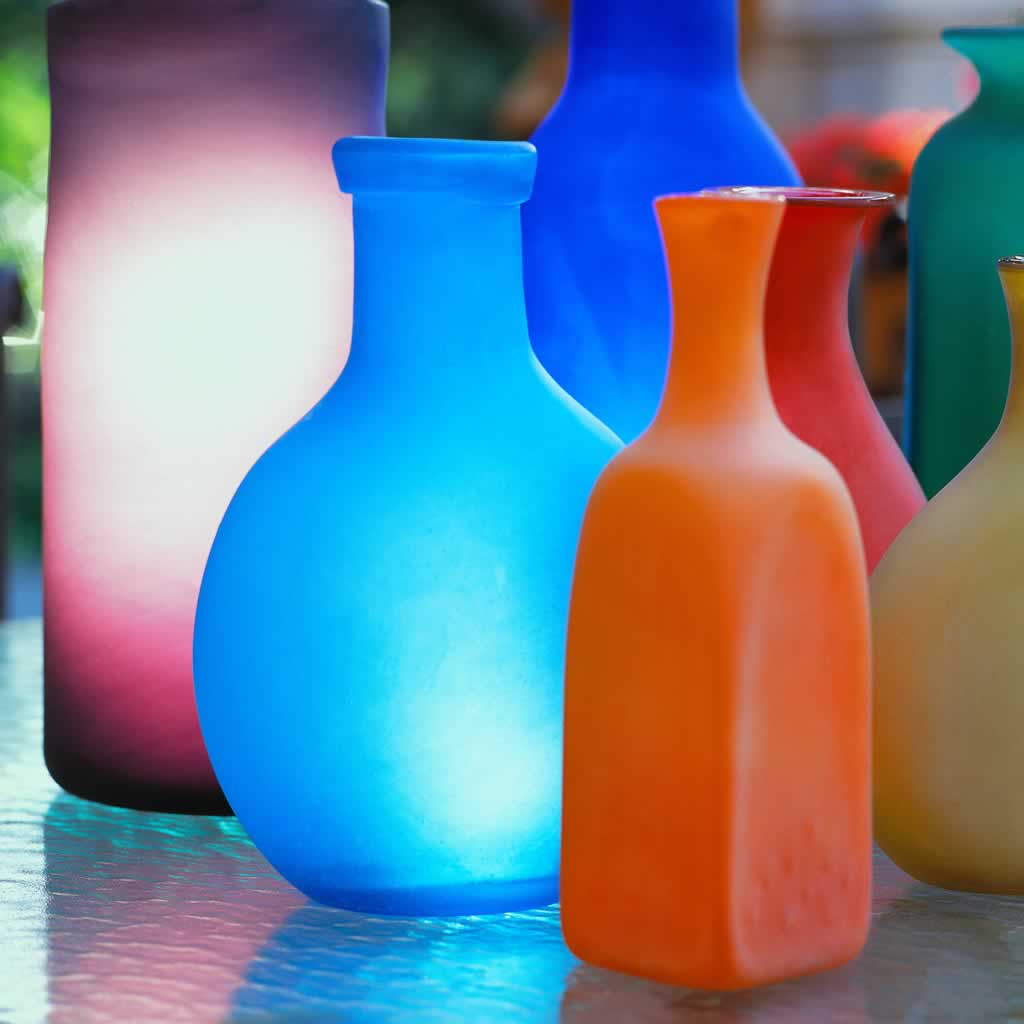 S Coloured Glass